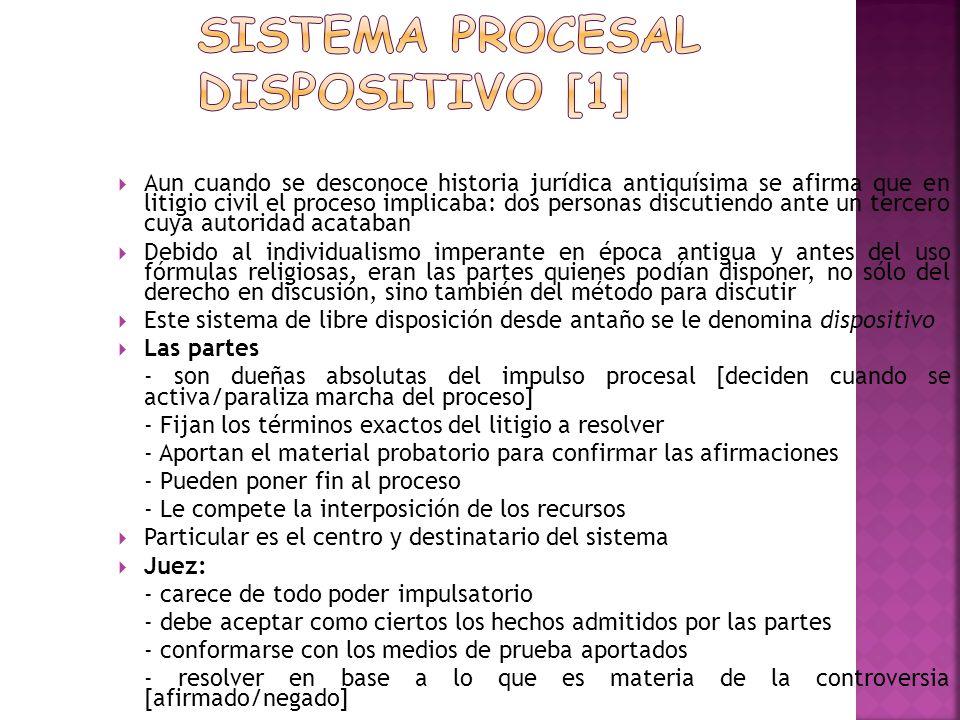 Sistema procesal dispositivo [1]